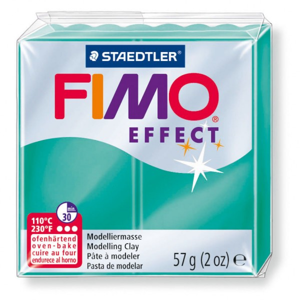 Modelliermasse Fimo effect lila transluz