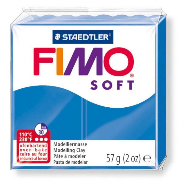 Modelliermasse Fimo soft pazifikblau