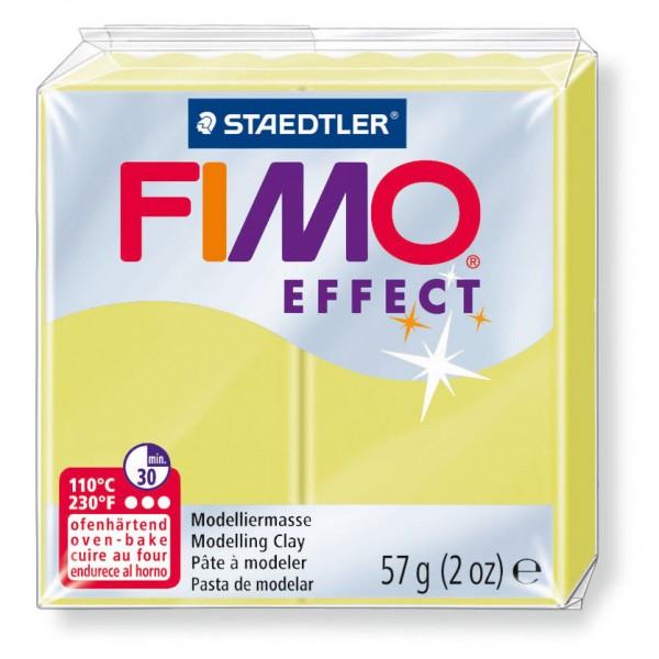 Modelliermasse Fimo effect zitrin
