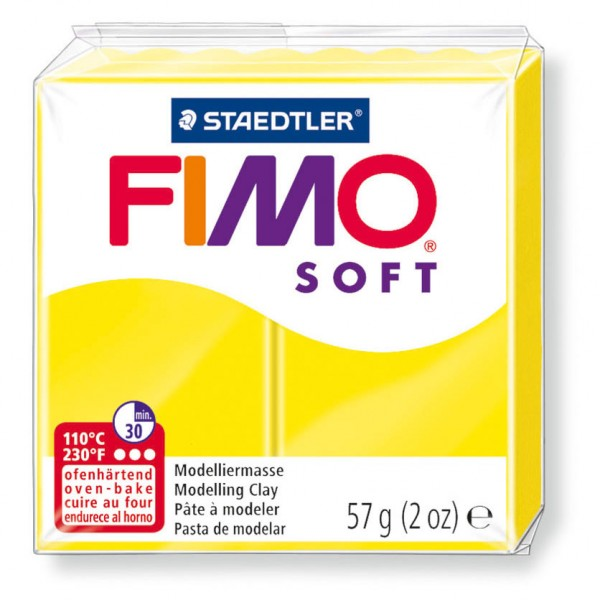 Modelliermasse Fimo soft limone