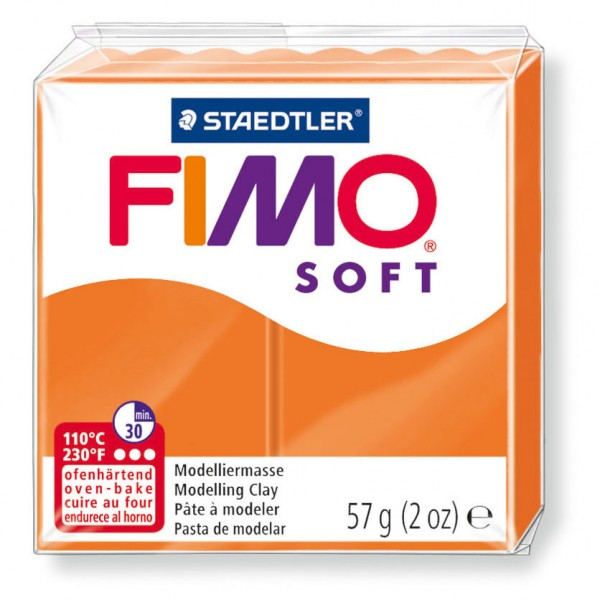 Modelliermasse Fimo soft mandarine