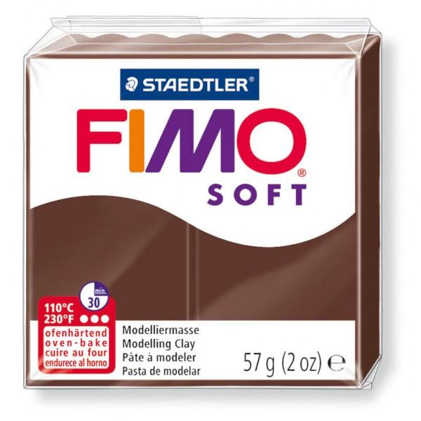 Modelliermasse Fimo soft schokolade