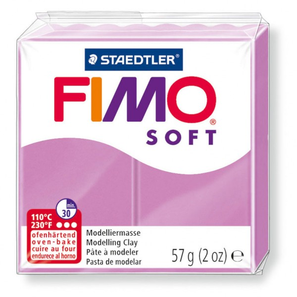 Modelliermasse Fimo soft lavendel