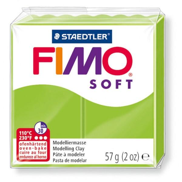 Modelliermasse Fimo soft apfelgrün