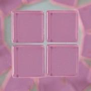 MosaixSoft-Glassteine, 10 x 10 x 4 mm, 200g ~ 215 Stk., Farbe: lila