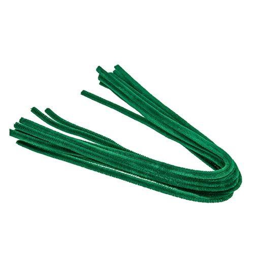 Pfeifenputzer, ø 8 mm / 50 cm, 10 Stk., Farbe: grün