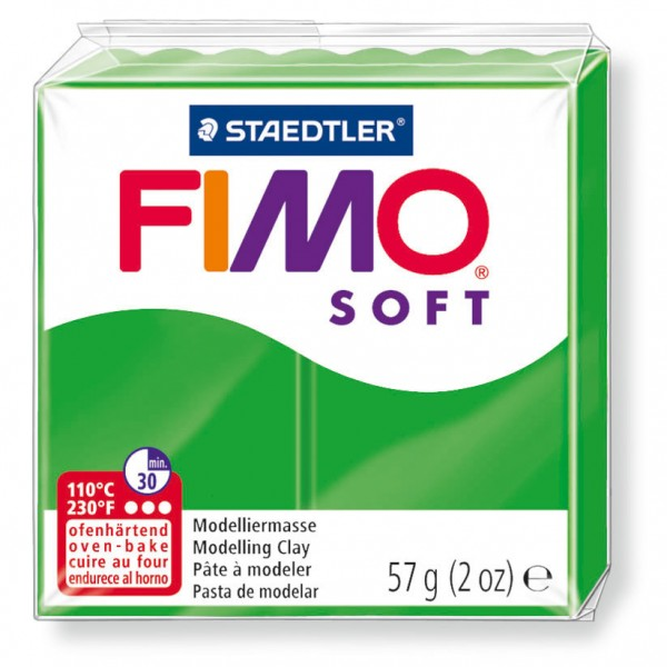 Modelliermasse Fimo soft tropischgrün