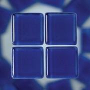 MosaixSoft-Glassteine, 10 x 10 x 4 mm, 200g ~ 215 Stk., Farbe: blau