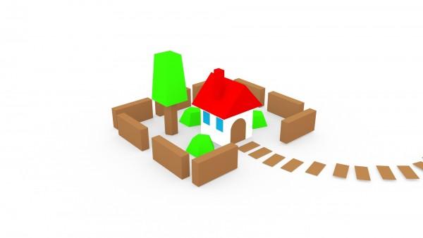 Das Dorf – Modell: Figuren (3D-Bastelset aus Papier)