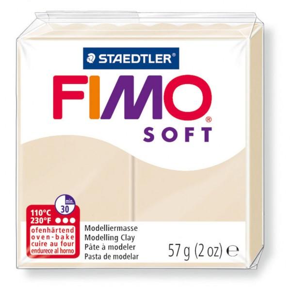 Modelliermasse Fimo soft sahara