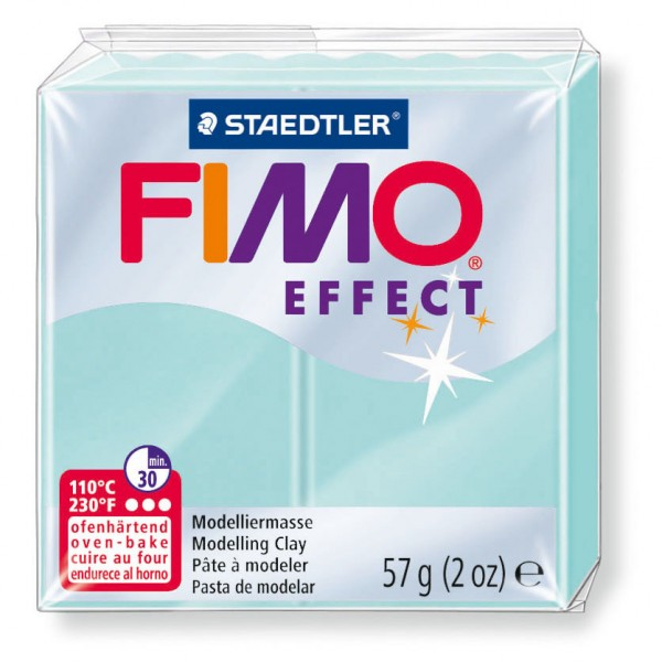Modelliermasse Fimo effect minze