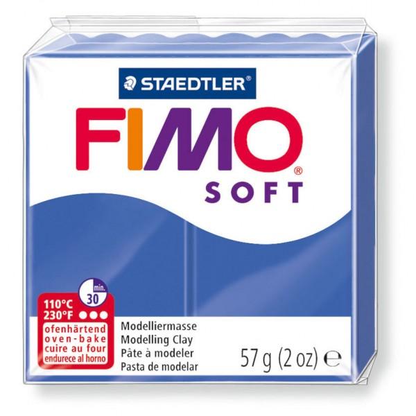 Modelliermasse Fimo soft brillantblau