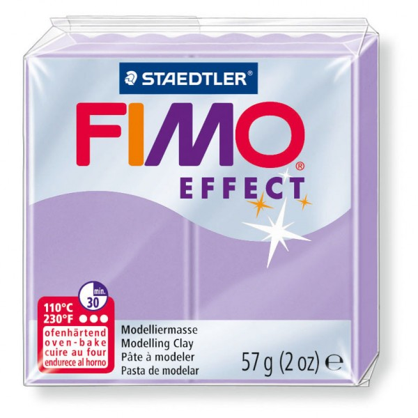 Modelliermasse Fimo effect flieder