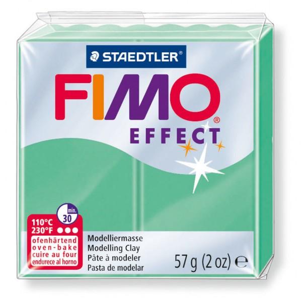 Modelliermasse Fimo effect jade