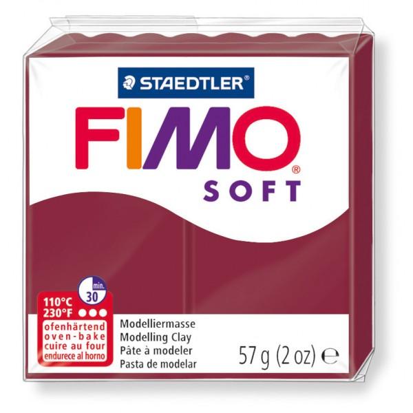 Modelliermasse Fimo soft merlot