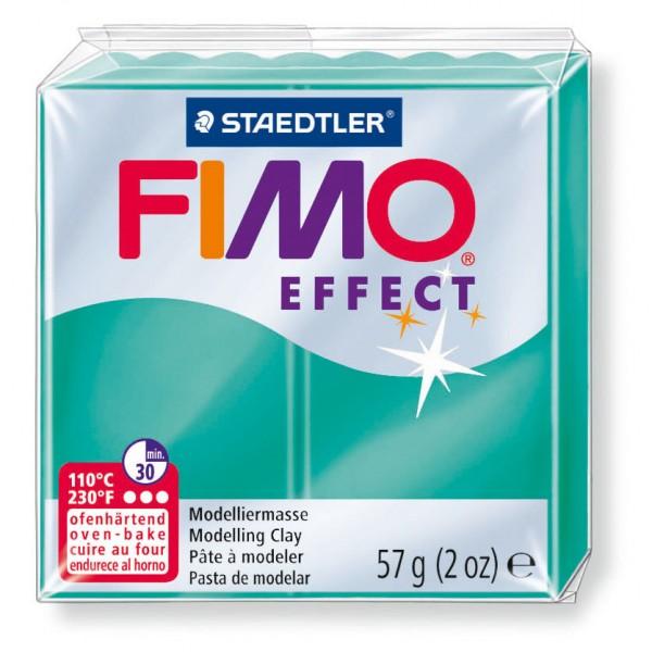 Modelliermasse Fimo effect grün transluz