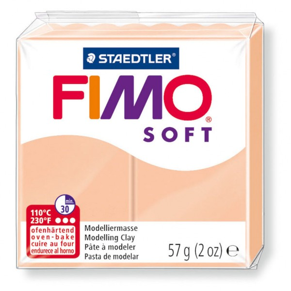 Modelliermasse Fimo soft haut hell