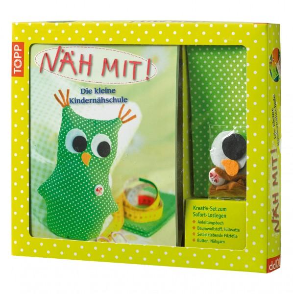 Kreativ-Set Näh Mit! von Andresen, Ina; Kipcke, Brit